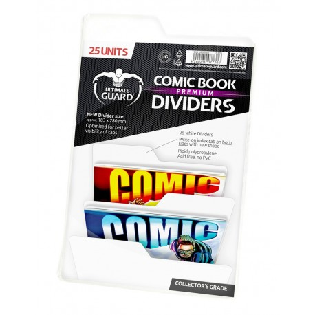 DIVIDERS 25PACK WHITE