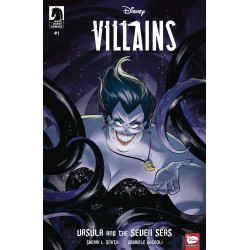 DISNEY VILLAINS URSULA SEVEN SEAS 1