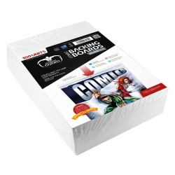 BACKING BOARDS SILVER SIZE 100PACK