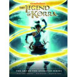 LEGEND OF KORRA ART OF ANIMATED SERIES BOOK 02