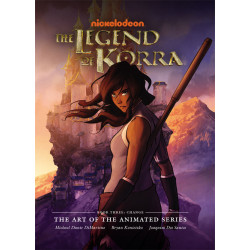 LEGEND OF KORRA ART ANIMATED SERIES BOOK 03 CHANGE