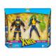 X-MEN HAVOK & POLARIS MARVEL LEGENDS 80TH ANNIVERSARY PACK 2 FIGURINES 15 CM