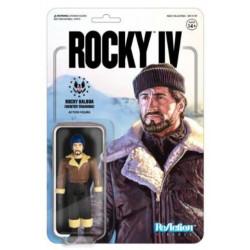 ROCKY (WINTER TRAINING) ROCKY 4 FIGURINE REACTION 10 CM