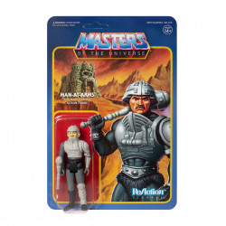 MAN-AT-ARMS (MOVIE ACCURATE) MASTERS OF THE UNIVERSE FIGURINE REACTION 10 CM
