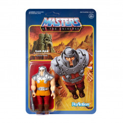 RAM MAN MASTERS OF THE UNIVERSE FIGURINE REACTION (MINI COMIC) 10 CM