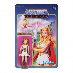 SHE-RA MASTERS OF THE UNIVERSE WAVE 5 FIGURINE REACTION 10 CM