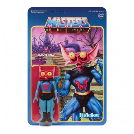 MANTENNA MASTERS OF THE UNIVERSE WAVE 5 FIGURINE REACTION 10 CM