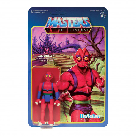 MODULOK A MASTERS OF THE UNIVERSE WAVE 5 FIGURINE REACTION 10 CM