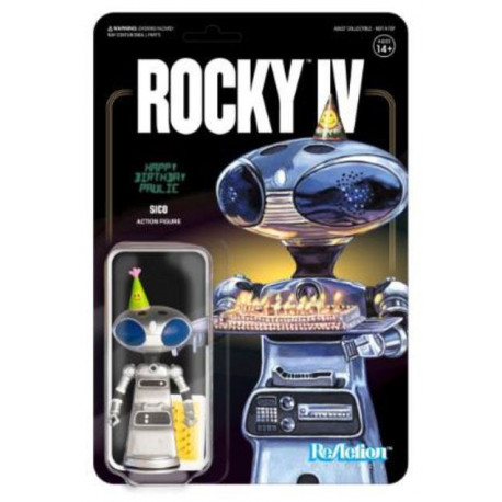 SICO PAULIE'S ROBOT ROCKY 4 FIGURINE REACTION 10 CM