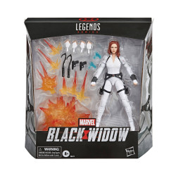 BLACK WIDOW MARVEL LEGENDS SERIES FIGURINE DELUXE 15 CM