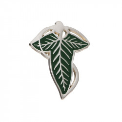 LORD OF THE RINGS ELVEN PIN BADGE 4 CM