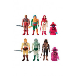 MASTERS OF THE UNIVERSE FIGURINE REACTION 10 CM CASTLE GRAYSKULL BLIND BOX (1 BOITE MYSTERE)