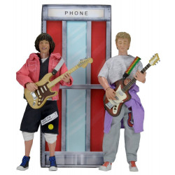 L EXCELLENTE AVENTURE DE BILL ET TED PACK 2 FIGURINES BILL TED 20 CM