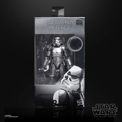 STORMTROOPER CARBONIZED STAR WARS BLACK SERIES 6INCH ACTION FIGURE
