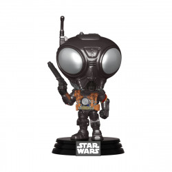 Q9-ZERO STAR WARS THE MANDALORIAN FIGURINE POP! TV VINYL 9 CM