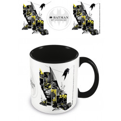 BATMAN 80TH ANNIVERSARY BLACK COLOURED INNER MUG