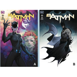 BATMAN 50 MICHAEL TURNER CVR A B SET