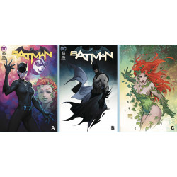 BATMAN 50 MICHAEL TURNER CVR A B C SET