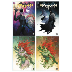 BATMAN 50 MICHAEL TURNER CVR A B C D SET