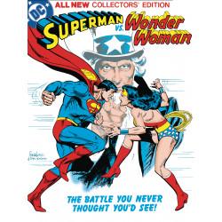 SUPERMAN VS WONDER WOMAN TABLOID ED HC