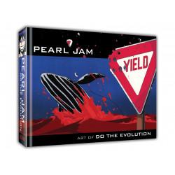 PEARL JAM ART OF DO THE EVOLUTION HC