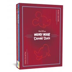 DISNEY MASTERS COLLECTORS HC BOX SET 1 2 SCARPA BOTTARO
