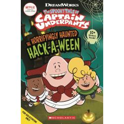 CAPT UNDERPANTS COMIC READER 1 HAUNTED HACKAWEEN