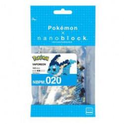 VAPOREON AQUALI AQUANA NANOBLOCK POKEMON BUILDING BLOCK SET