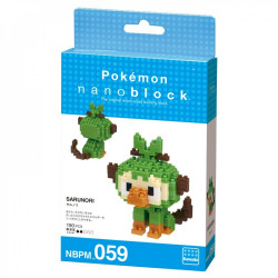 GROOKEY OUISTEMPO CHIMPEP NANOBLOCK POKEMON BUILDING BLOCK SET