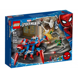 SPIDER-MAN CONTRE DOCTEUR OCTOPUS LEGO MARVEL 76148