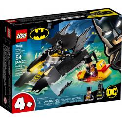 LA POURSUITE DU PINGOUIN EN BATBATEAU LEGO DC BATMAN 76158