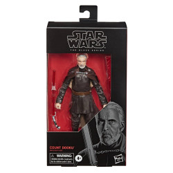 COUNT DOOKU EPISODE II STAR WARS BLACK SERIES 2020 WAVE FIGURINE 15 CM