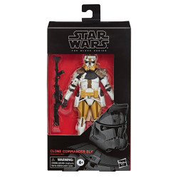CLONE COMMANDER BLY CLONE WARS STAR WARS BLACK SERIES 2020 WAVE FIGURINE 15 CM