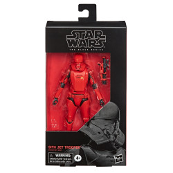 SITH JET TROOPER EPISODE IX STAR WARS BLACK SERIES 2020 WAVE FIGURINE 15 CM