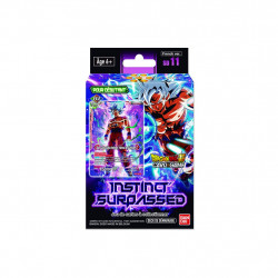 STARTER DECK DE DEMARRAGE DRAGON BALL CARD GAME SD11 - INSTINCT SURPASSED