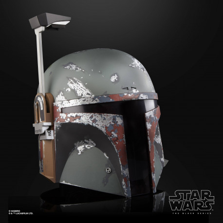 BOBA FETT STAR WARS BLACK SERIES CASQUE ELECTRONIQUE PREMIUM