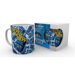 TARDIS DOCTOR WHO MUG