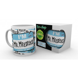 MR MEESEEKS LOOK AT ME RICK AND MORTY MUG