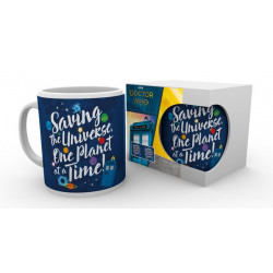 SAVING THE UNIVERSE ONE PLANET AT A TIMETARDIS DOCTOR WHO MUG