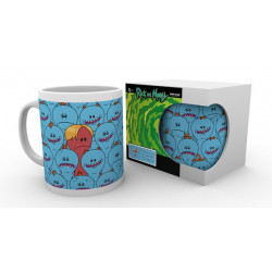 MEESEEKS WALL ME RICK AND MORTY MUG