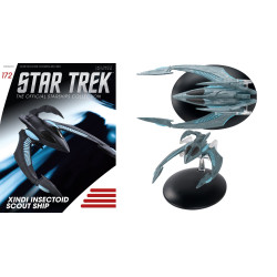 XINDI-INSECTOID SCOUT SHIP STAR TREK STARSHIPS NUMERO 172