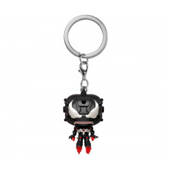 VENOMIZED IRON MAN POCKET POP KEYCHAIN