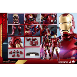 IRON MAN FIGURINE QS SERIES 1/4 IRON MAN MARK III 48 CM
