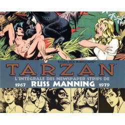 TARZAN : L'INTEGRALE DES NEWSPAPER STRIPS DE RUSS MANNING 1974_1979
