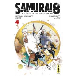 SAMURAI 8 - LA LEGENDE DE HACHIMARU - TOME 4