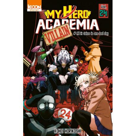 MY HERO ACADEMIA T24 - VOL24