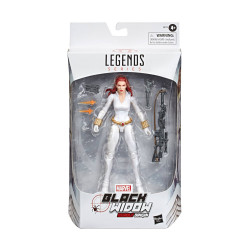 BLACK WIDOW WHITE SUIT DEADLY ORIGIN MARVEL LEGENDS SERIES FIGURINE 15 CM