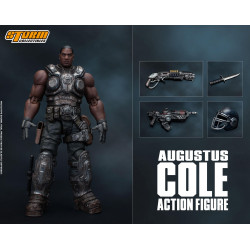 AUGUSTUS COLE GEARS OF WAR 5 FIGURINE 16 CM