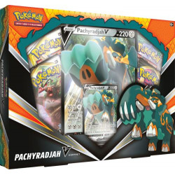 COFFRET PACHYRADJAH-V POKEMON TRADIND CARDS