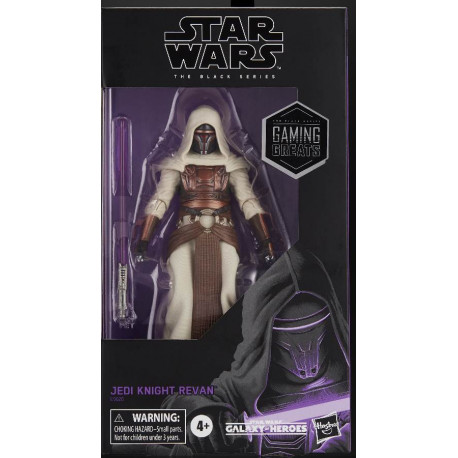 JEDI KNIGHT REVAN STAR WARS THE BLACK SERIES GAMING GREATS ACTION FIGURE 15 CM